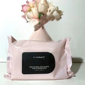 MAC Gently Off Makeup Wipes + Micellar Water Mini